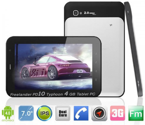 Freelander PD10 Typhoon Version Tablet PC