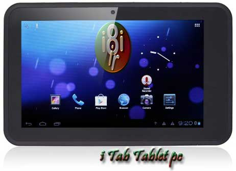iTab_Dual Core-Dual Sim-video Call-7inch Tablet PC